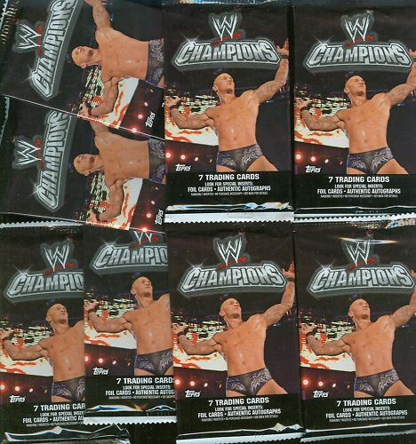 2 PACK LOT : 2011 Topps WWE Champions Wrestling Factory Sealed Hobby Box