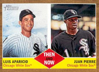 2011 Topps Heritage Then and Now #TN4 Luis Aparicio/Juan Pierre