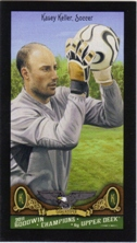 2011 Upper Deck Goodwin Champions Mini Black #107 Kasey Keller