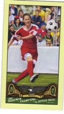 2011 Upper Deck Goodwin Champions Mini #18 Brandi Chastain