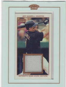 2002 Topps 206 Relics #JB2 Jeff Bagwell Uni C2