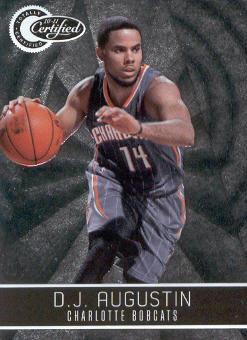 2010-11 Totally Certified #5 D.J. Augustin