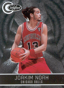 2010-11 Totally Certified #17 Joakim Noah
