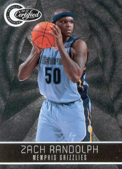 2010-11 Totally Certified #36 Zach Randolph