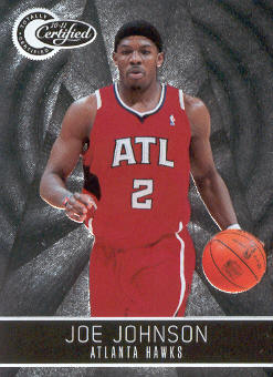 2010-11 Totally Certified #39 Joe Johnson