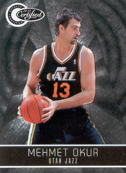 2010-11 Totally Certified #58 Mehmet Okur
