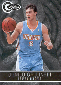 2010-11 Totally Certified #94 Danilo Gallinari
