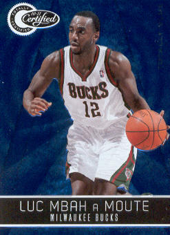 2010-11 Totally Certified Blue #13 Luc Mbah a Moute