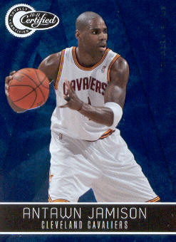 2010-11 Totally Certified Blue #19 Antawn Jamison