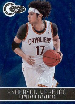 2010-11 Totally Certified Blue #22 Anderson Varejao