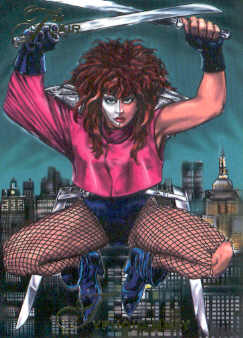 1994 Marvel Annual #62 Typhoid Mary