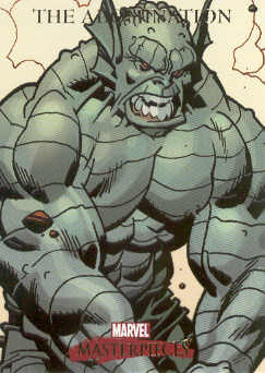 2007 Marvel Masterpieces #2 The Abomination