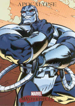 2007 Marvel Masterpieces #4 Apocalypse