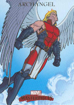 2007 Marvel Masterpieces #5 Archangel