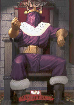 2007 Marvel Masterpieces #6 Baron Zemo