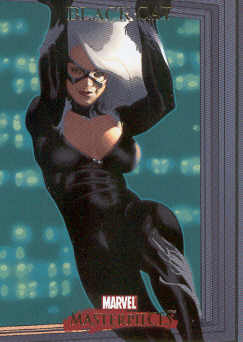 2007 Marvel Masterpieces #9 Black Cat