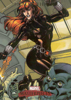 2007 Marvel Masterpieces #11 Black Widow