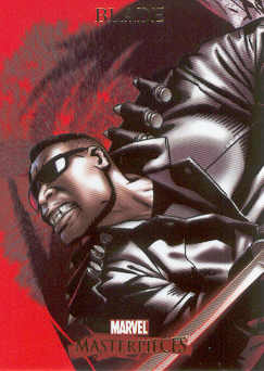 2007 Marvel Masterpieces #12 Blade