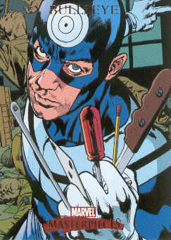 2007 Marvel Masterpieces #14 Bullseye