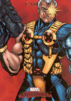 2007 Marvel Masterpieces #15 Cable
