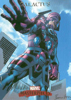 2007 Marvel Masterpieces #30 Galactus