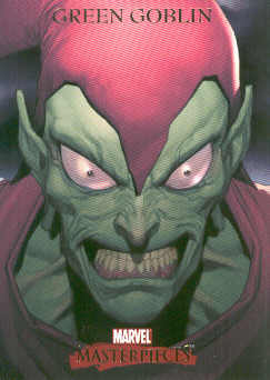 2007 Marvel Masterpieces #34 Green Goblin