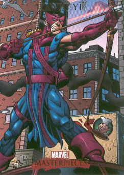 2007 Marvel Masterpieces #35 Hawkeye
