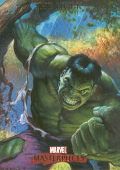 2007 Marvel Masterpieces #37 The Hulk
