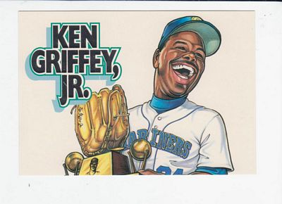 1994 Alrak Griffey Jr. Taco Time #1 Ken Griffey Jr./1990 First Gold Glove