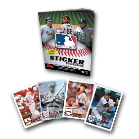 2011 Topps Baseball Sticker Album Starter Kit NEW!