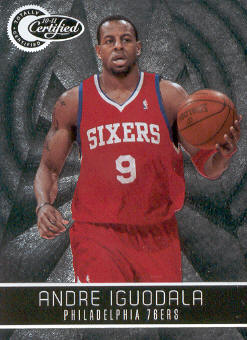 2010-11 Totally Certified #1 Andre Iguodala