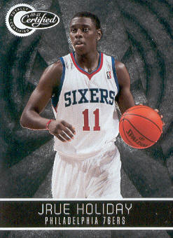 2010-11 Totally Certified #3 Jrue Holiday