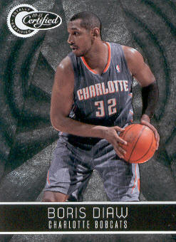 2010-11 Totally Certified #6 Boris Diaw