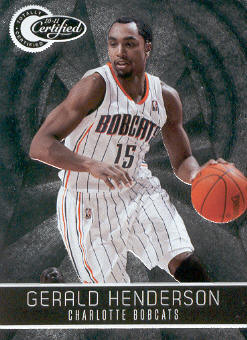2010-11 Totally Certified #7 Gerald Henderson