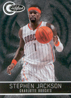 2010-11 Totally Certified #8 Stephen Jackson