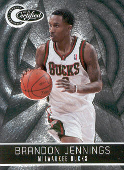 2010-11 Totally Certified #9 Brandon Jennings