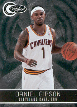 2010-11 Totally Certified #20 Daniel Gibson