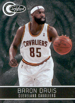 2010-11 Totally Certified #21 Baron Davis
