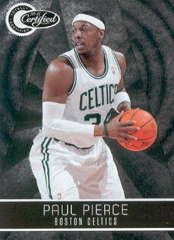 2010-11 Totally Certified #23 Paul Pierce