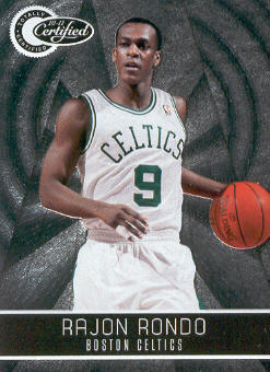 2010-11 Totally Certified #24 Rajon Rondo