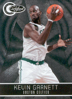 2010-11 Totally Certified #25 Kevin Garnett