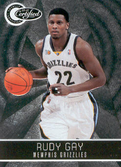 2010-11 Totally Certified #37 Rudy Gay