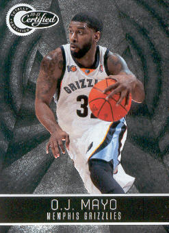 2010-11 Totally Certified #38 O.J. Mayo