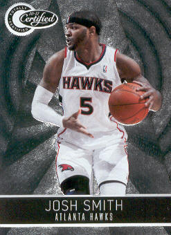 2010-11 Totally Certified #40 Josh Smith