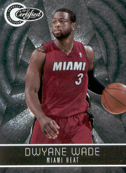 2010-11 Totally Certified #44 Dwyane Wade