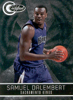 2010-11 Totally Certified #61 Samuel Dalembert