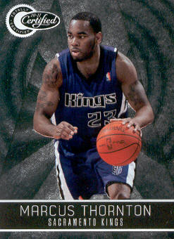 2010-11 Totally Certified #62 Marcus Thornton