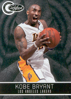 2010-11 Totally Certified #69 Kobe Bryant