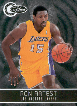 2010-11 Totally Certified #71 Ron Artest