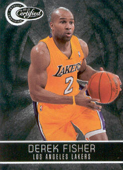 2010-11 Totally Certified #73 Derek Fisher
